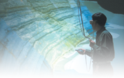 3D immersive environment or 'digital cave'