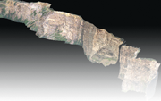 3D PhotoReal™ model of Utah Outcrop